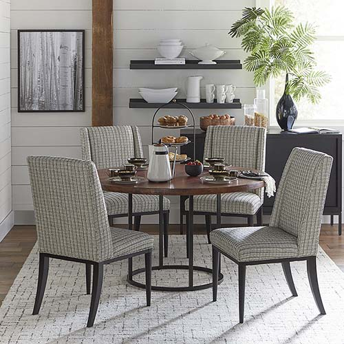 Great Round Dining Room Tables Round Dining Tables Dining Rooms And Kitchens Bassett Furniture