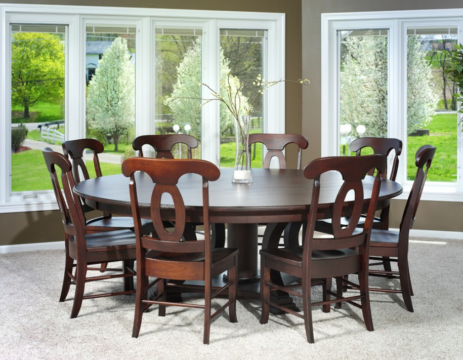 Great Round Dining Table For 6 With Leaf Dining Room Astounding Round Dining Room Table For 6 Round