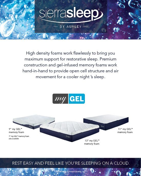 Great Sierra Sleep Memory Foam Mattress 164 Best Sierra Sleep Ashley Images On Pinterest Mattresses