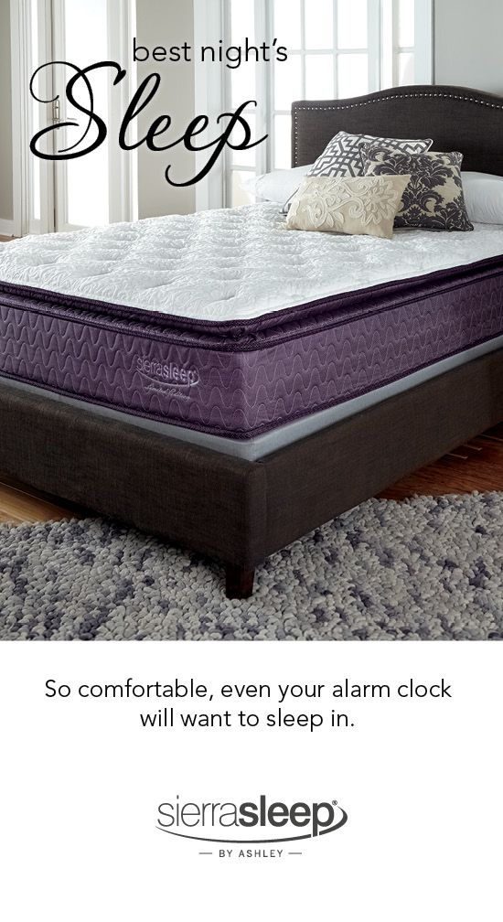 Great Sierra Sleep Memory Foam Mattress Get Your Best Nights Sleep Sierra Sleep Ashley Mattresses