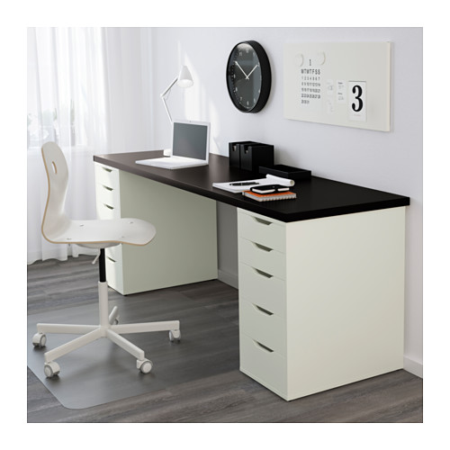Great Small Desk With Drawers Ikea Alex Drawer Unit White Ikea