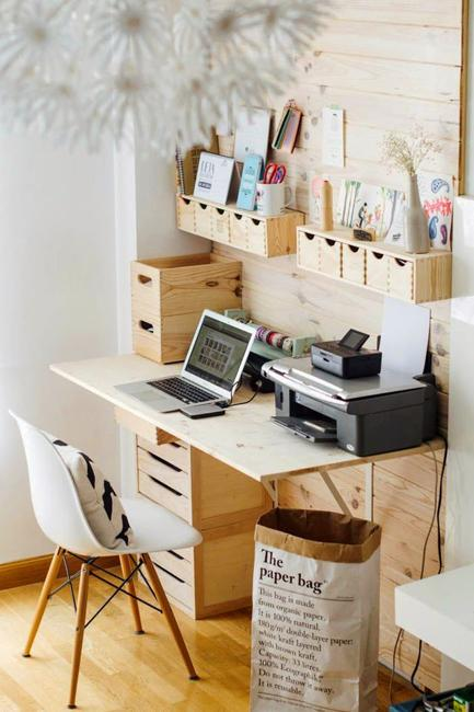 Great Small Home Office Desk With Drawers 22 Space Saving Storage Ideas For Elegant Small Home Office Designs