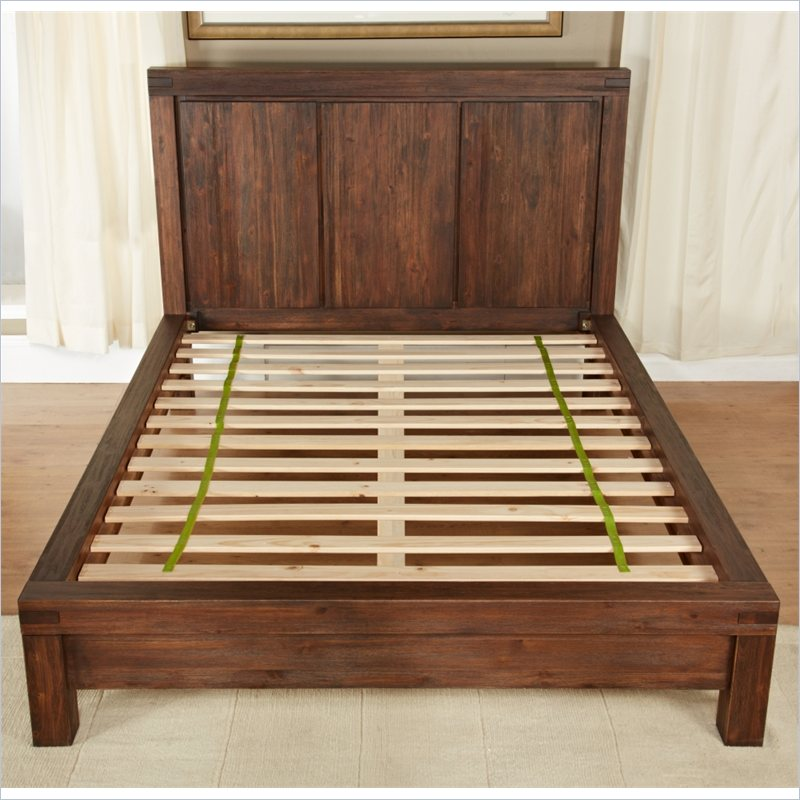 Great Solid Wood Bed Slats Modus Meadow Solid Wood Platform Bed Broadway Furniture