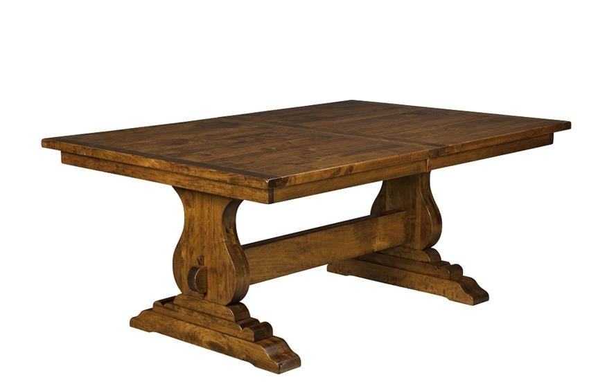 Great Trestle Dining Table Plank Top Trestle Dining Table