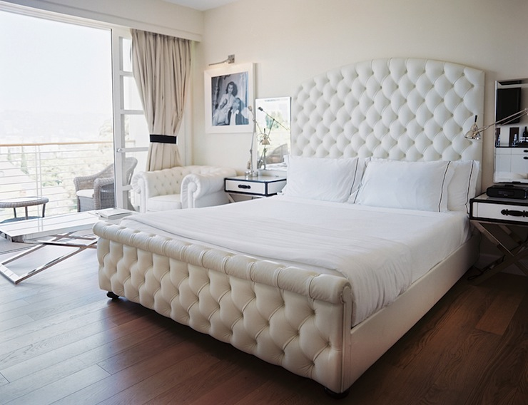 Great Tufted Headboard Bed Frame Lovely White Tufted Headboard With Crystals 49 In King Size