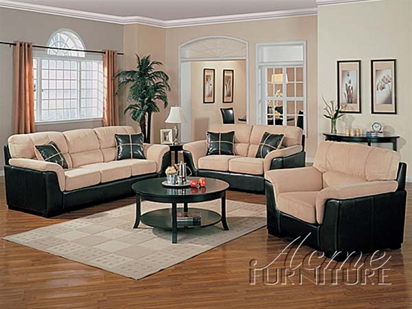 Great Two Piece Sofa Set Corfland Two Tone Mist Easy Rider Brown Cast 2 Piece Sofa Set