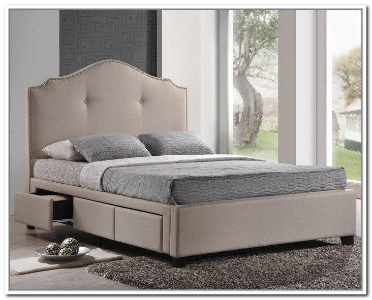 Great Upholstered Bed Frame With Drawers Bedding Charming Upholstered Storage Bed Br 3336113p Alison