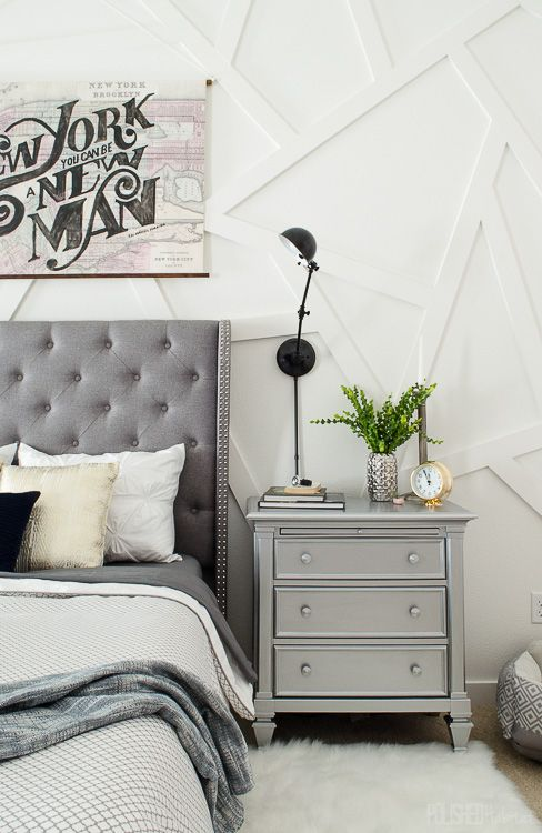 Great White And Silver Nightstand Best 25 Silver Nightstand Ideas On Pinterest Classy Bedroom