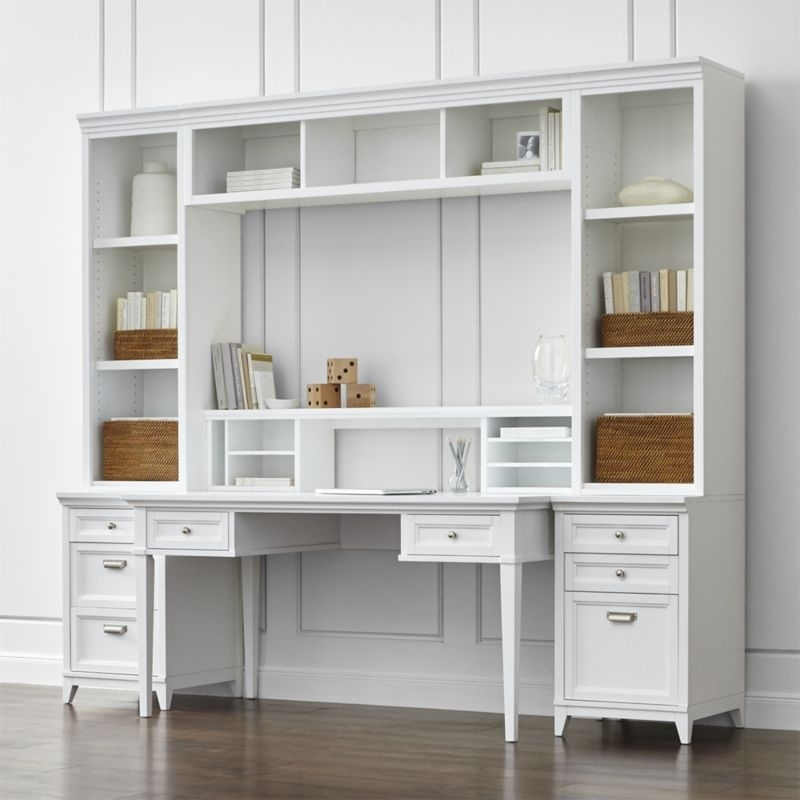 Great White Home Office Furniture Collections Astonishing White Modular Home Office Furniture Design Home Ideas