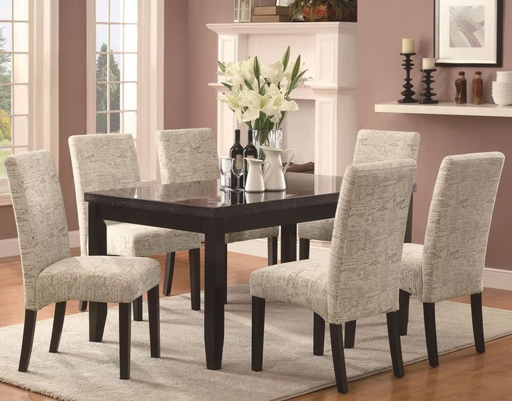 Great Wood And Fabric Dining Room Chairs 24 Best Best Fabric Dining Chairs Images On Pinterest Dining