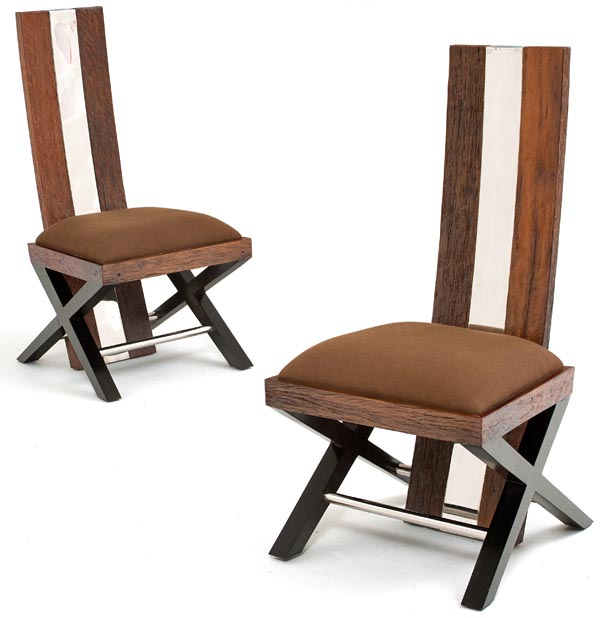 Great Wooden Dining Stools Reclaimed Wood Dining Chair Rustic Modern Dining Chair Eco Friendly