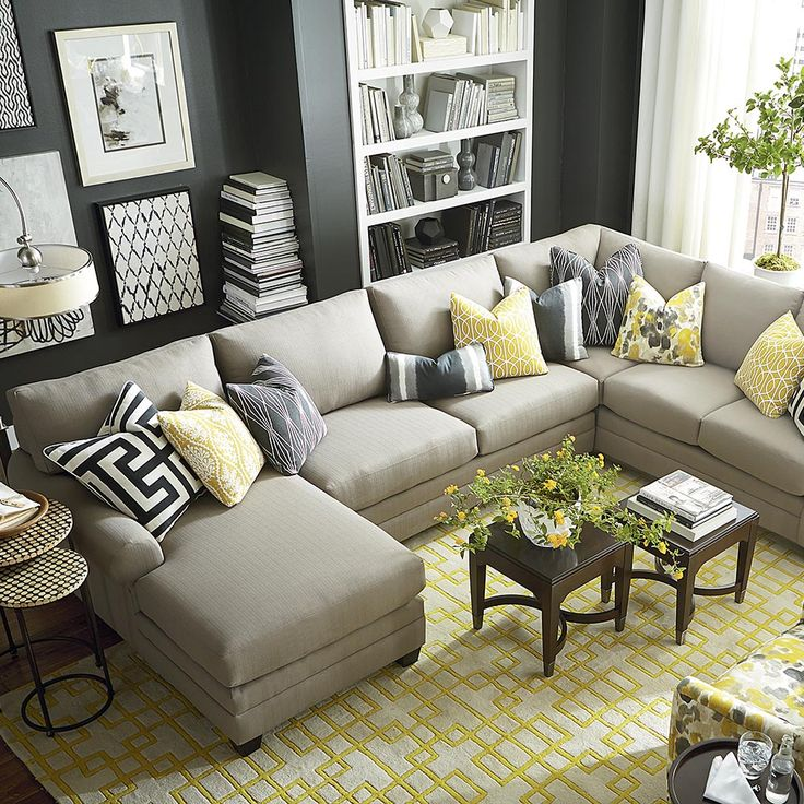 Impressive 6 Person Sectional Sofa Best 25 U Shaped Sectional Ideas On Pinterest U Shaped Couch U