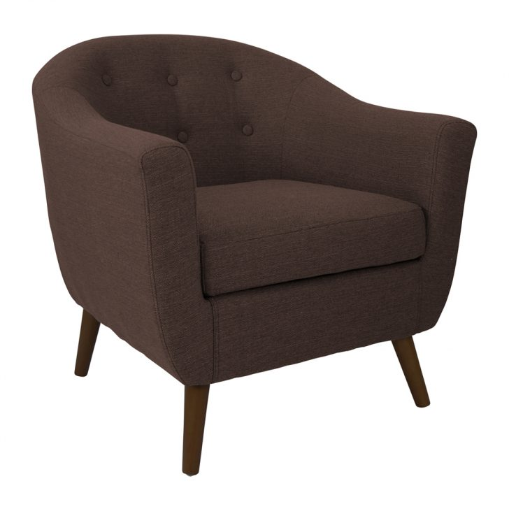 Impressive Accent Chair With Wheels Accent Chair Swoop Arm Armless Living Room Chairs Office With
