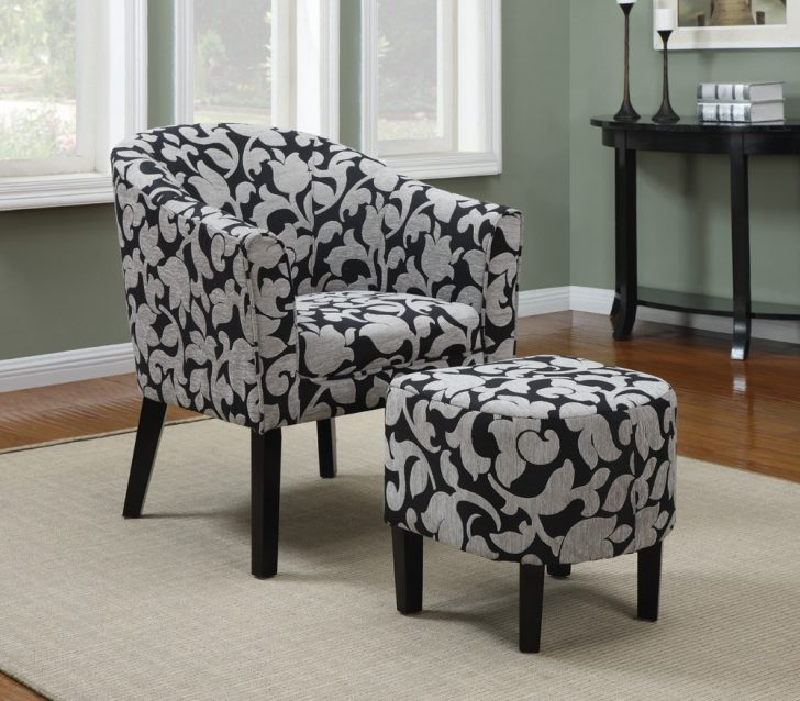 Impressive Accent Chairs With Arms And Ottoman Living Room Amazing Living Room Furniture With Accent Chair With