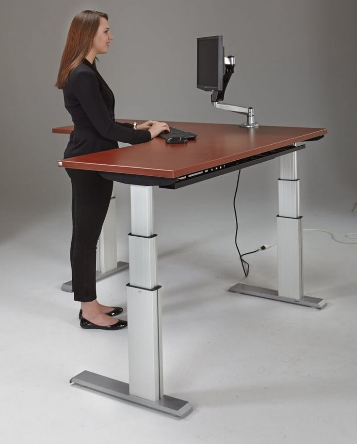 Impressive Adjustable Computer Desk Best 25 Adjustable Computer Desk Ideas On Pinterest Adjustable