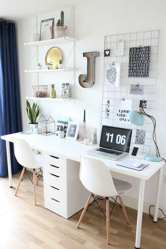 Impressive Affordable Home Office Desks 16 Home Office Desk Ideas For Two Desks Office Desks And Diy