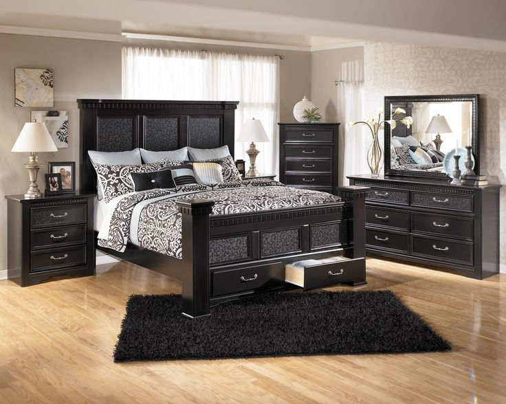 Impressive Ashley Furniture Black Nightstand Bedroom 31 Ashley Furniture Timberline Warm Brown Dresser Black