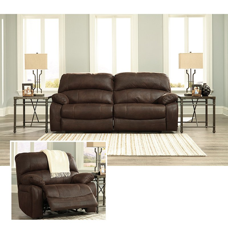 Impressive Ashley Furniture Leather Recliners Rent To Own Ashley Furniture Zavier Sofa Recliner Set