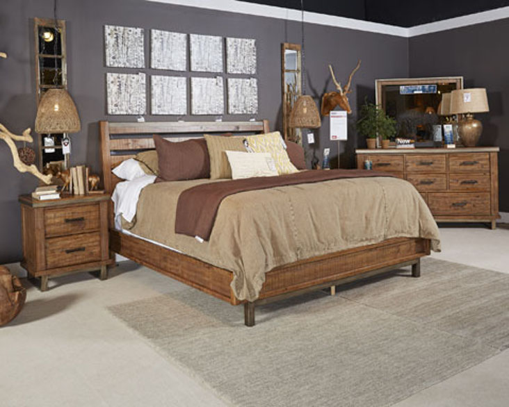 Impressive Ashley Queen Platform Bed Ashley Dondie Bedroom Collection
