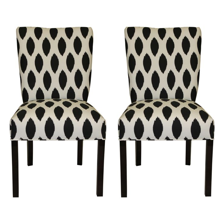 Impressive Black And White Dining Chairs Room Great Fabric Design Best 25 Ideas