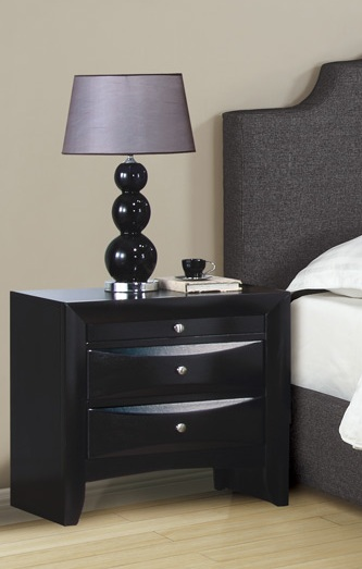 Impressive Black Bedroom End Tables Contemporary Black Nightstand Huntington Beach Furniture