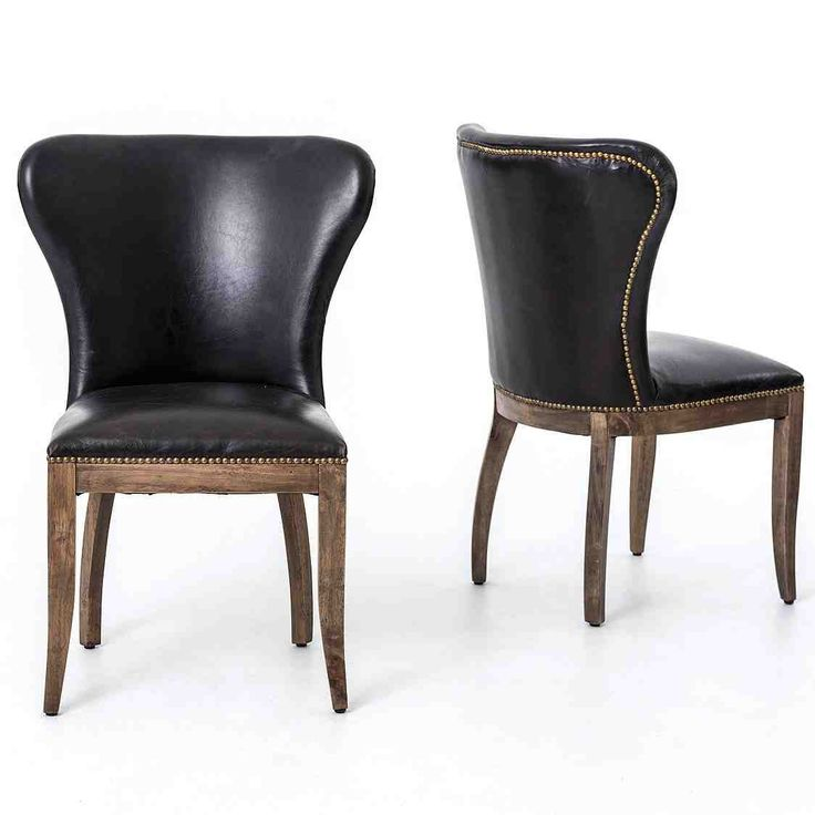 Impressive Black Brown Dining Chairs Best 25 Leather Dining Chairs Ideas On Pinterest Dining Chairs