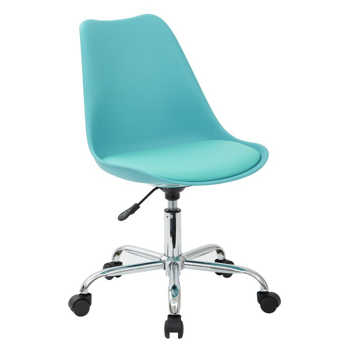 Impressive Blue Office Chair Office Chairs Youll Love Wayfair