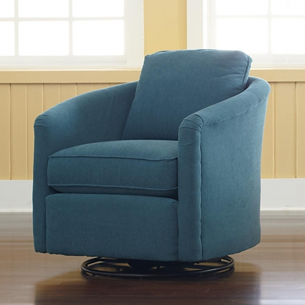 Impressive Blue Swivel Chair Living Room Blue Swivel Chair Modern For Living Room With Dark Blue Accents