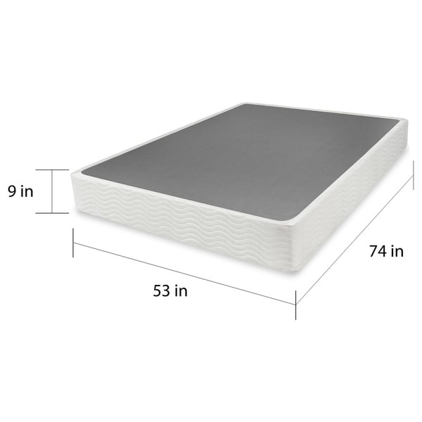 Impressive Box Spring Foundation Full Priage 9 Inch Full Size Easy To Assemble Box Mattress Foundation
