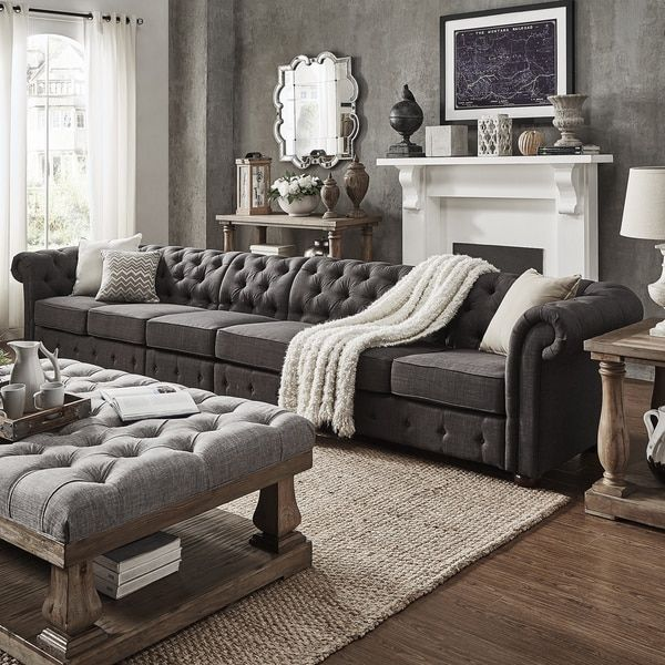 Impressive Brown And Grey Sofa Best 25 Dark Couches Ideas On Pinterest