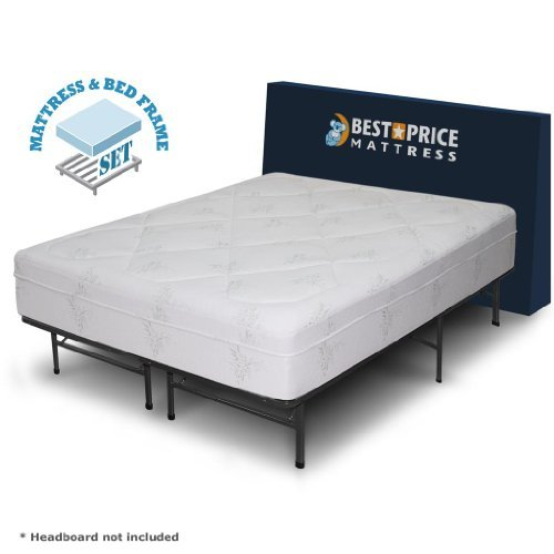 Impressive California King Boxspring And Frame Best Price Mattress 12 Memory Foam Mattress Bed Frame Set