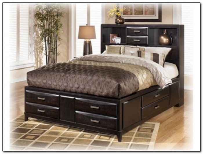 Impressive California King Platform Bed With Drawers Bed California King Bed Frame With Drawers Home Design Ideas