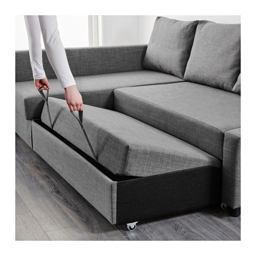Impressive Chaise Longue Sofa Bed Friheten Corner Sofa Bed With Storage Skiftebo Dark Grey Ikea