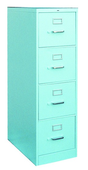 Impressive Colored File Cabinets Twenty Gauge File Cabinet 4 Drawer Ba Blue File Cabinets