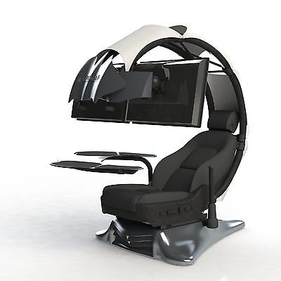 Impressive Computer Workstation Chair Droian Ergonomic Chair Gamer Computer Workstation Leather Seat