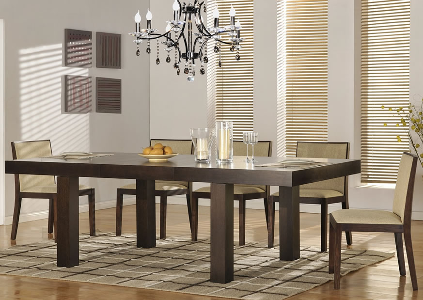 Impressive Contemporary Dining Room Sets Contemporary Dining Room Furniture Sets Latest Trend In