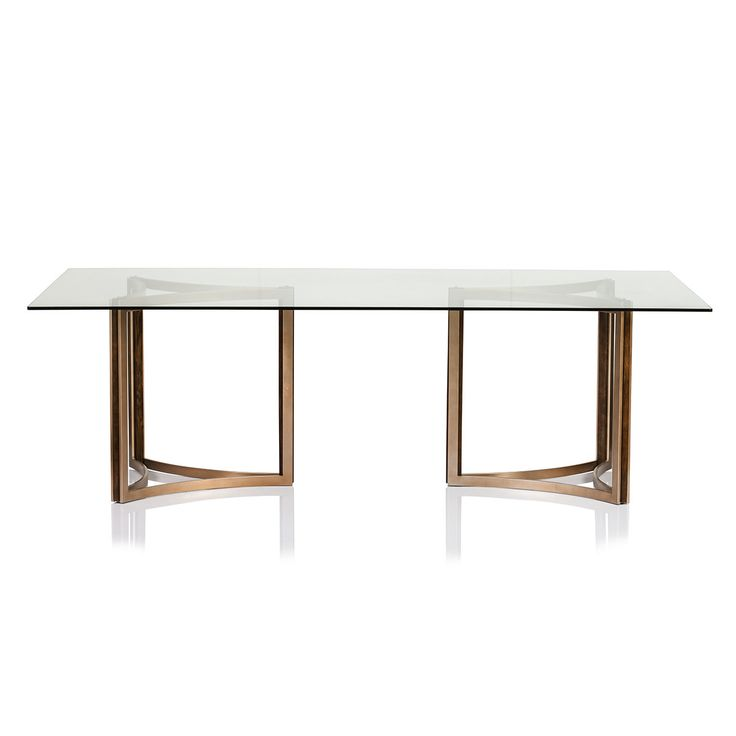 Impressive Contemporary Dining Table Bases Manhattan Glass Top Dining Table Elegant Dining Glass Top