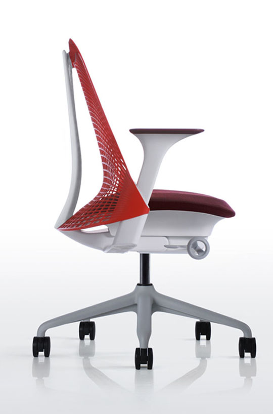 Impressive Contemporary Office Chair Modern Innovative Office Chairs Design With Red Back Rest Ideas