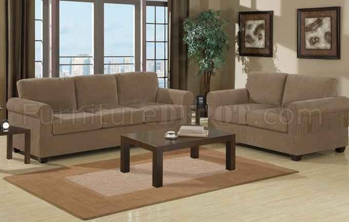 Impressive Corduroy Sofa And Loveseat Tan Corduroy Fabric Modern Sofa Loveseat Set Wwooden Legs