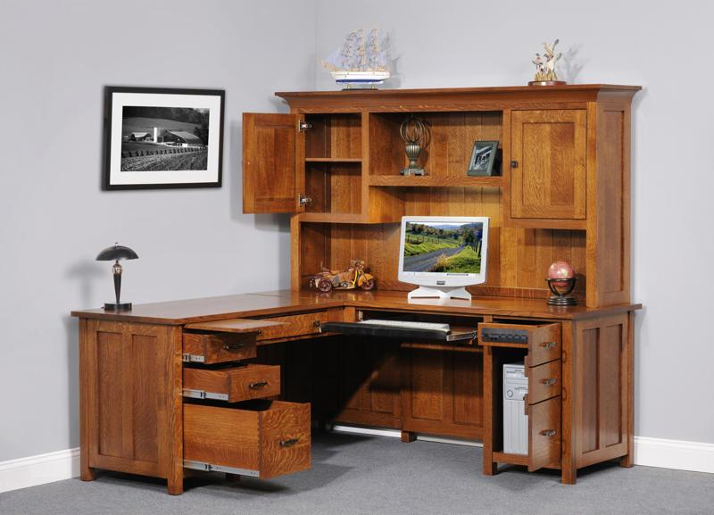 Impressive Corner Computer Desk With Hutch Impressive Desk Hutch Ideas Great Home Decorating Ideas With