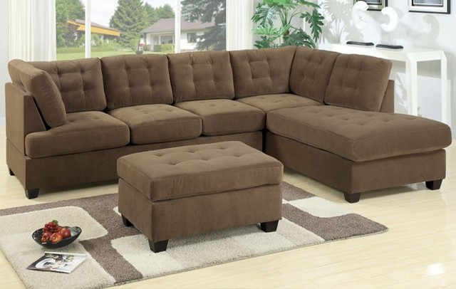 Impressive Corner Couch With Chaise Sectional Couch Chaise Ottoman Thesecretconsul