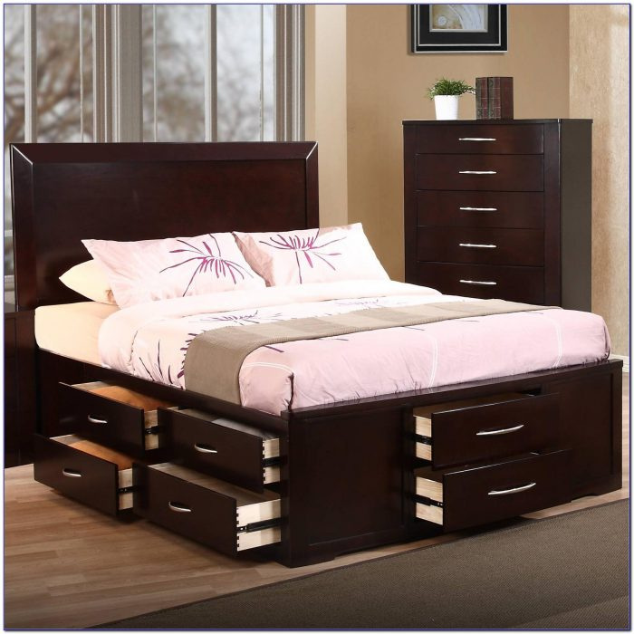 Impressive Costco Queen Bed Frame Queen Bed Frame With Storage Costco Bedroom Home Design Ideas
