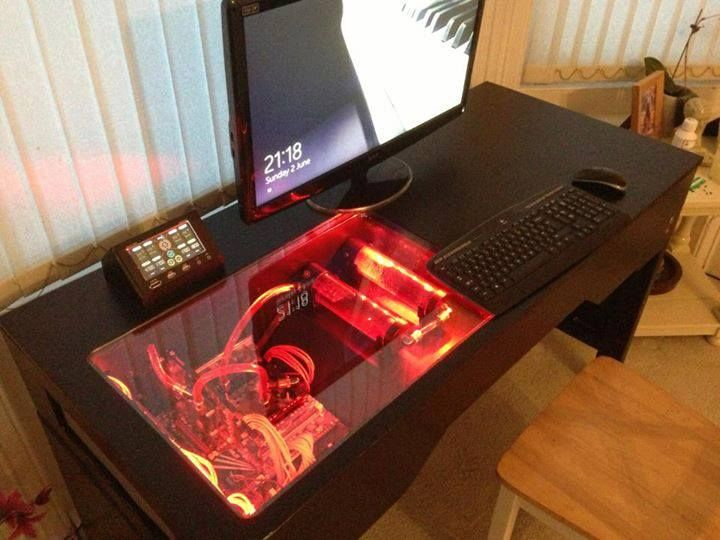 Impressive Crazy Computer Desk Best 25 Computer Built Into Desk Ideas On Pinterest Pc Built