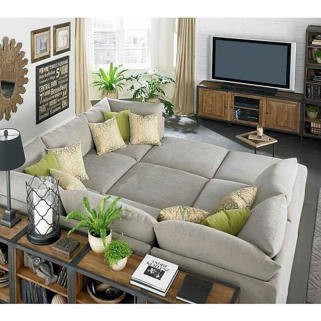 Impressive Deep Sectional Sofas Living Room Furniture Best 25 Comfy Sectional Ideas On Pinterest Family Room