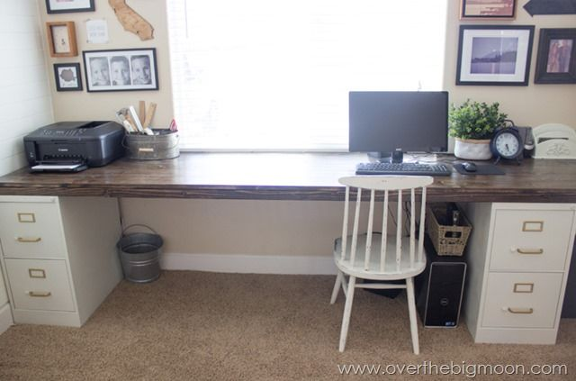 Impressive Desk And File Cabinet Diy File Cabinet Desk Tutorial Somethings To Try Pinterest Diy