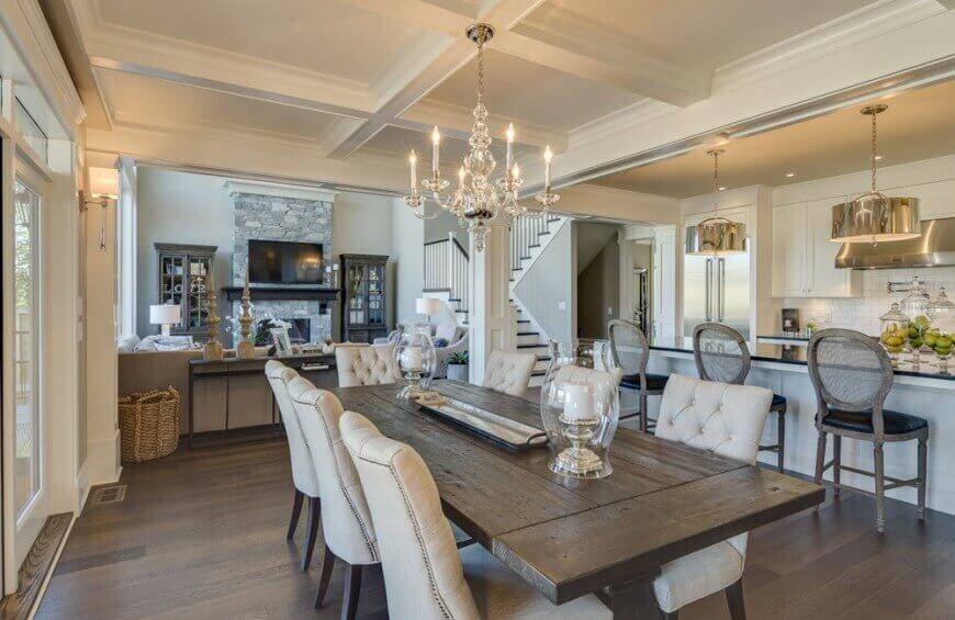 Impressive Dining Room Tables 25 Top Dining Room Designs 2016 Edition