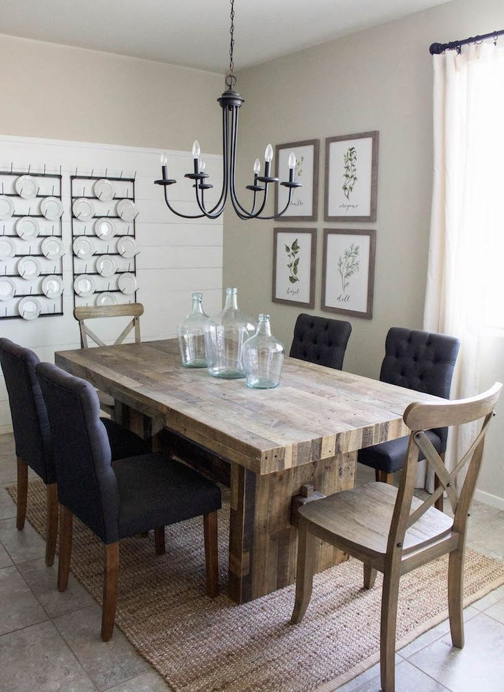 Impressive Dinner Room Tables Best 25 Diy Dining Table Ideas On Pinterest Farmhouse Dining