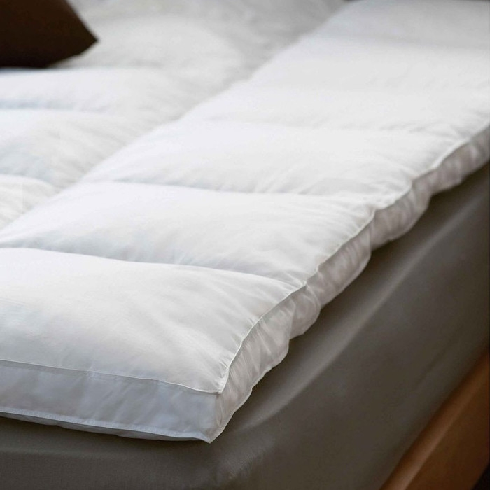 Impressive Down Pillow Toppers For Mattresses Mattress Toppers