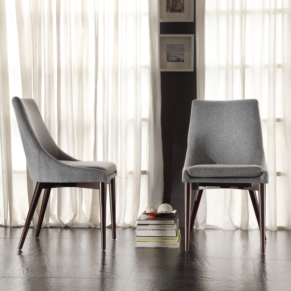 Impressive Fabric Dining Chairs With Black Legs Chairs Astonishing Grey Dining Chairs Grey Dining Chairs With