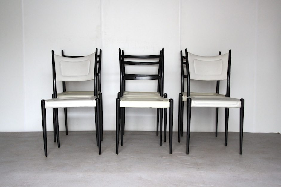 Impressive Faux Leather Dining Chairs English Wood Faux Leather Dining Chairs From G Plan 1962 Set